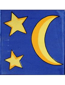 Azulejo 02AS-ESTRELLASYLUNA20AZ