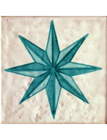 Azulejo 02AS-DALIAESTRELLA10AZ