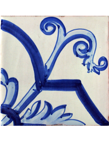Azulejo 02AS-FLORBARROCO15AZ